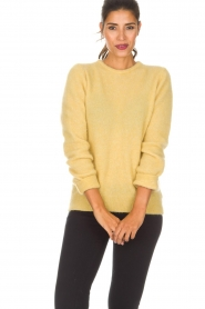 American Vintage | Woolen sweater Ava | yellow  | Picture 2