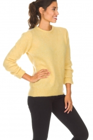 American Vintage | Woolen sweater Ava | yellow  | Picture 4