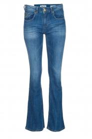 Lois Jeans |  Flared jeans Melrose L34 | vintage blue  | Picture 1