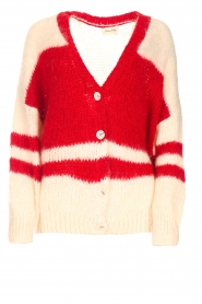 American Vintage |  Oversized cardigan Louise | white  | Picture 1