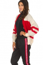 American Vintage |  Oversized cardigan Louise | white  | Picture 5
