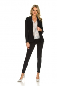 Patrizia Pepe |  Jegging Floor | black   | Picture 2