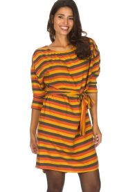 American Vintage |  Striped dress Lisa | multi  | Picture 4