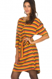 American Vintage |  Striped dress Lisa | multi  | Picture 5