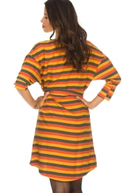 American Vintage |  Striped dress Lisa | multi  | Picture 6