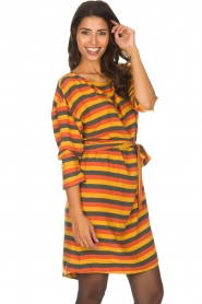 American Vintage |  Striped dress Lisa | multi  | Picture 2