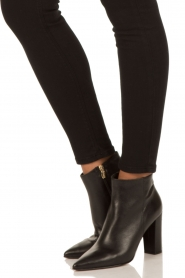 Noe |  Leather ankle boots Norva | black  | Picture 3