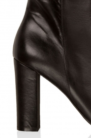Noe |  Leather ankle boots Norva | black  | Picture 6
