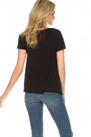 American Vintage |  Round neck T-shirt Jacksonville | black  | Picture 5