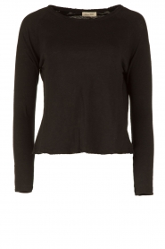 American Vintage |  Basic round neck top l\s Sonoma | black