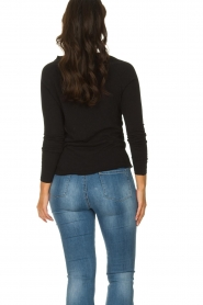 American Vintage |  Basic round neck top l\s Sonoma | black  | Picture 4