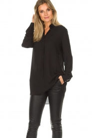 Dante 6 |  Tunic blouse Opulent | black  | Picture 2