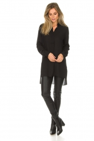 Dante 6 |  Tunic blouse Opulent | black  | Picture 3