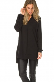 Dante 6 |  Tunic blouse Opulent | black  | Picture 4