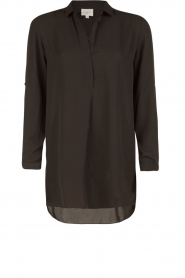 Dante 6 |  Tunic blouse Opulent | black  | Picture 1