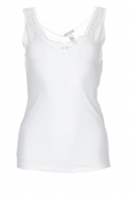 Hanro |  Top Cotton Lace | white  | Picture 1