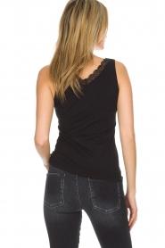 Hanro |  Top Cotton Lace | black  | Picture 5