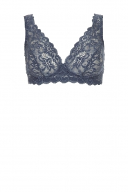 Hanro |  Lace bra Moments | blue  | Picture 1