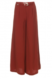 Silvian Heach |  Cropped trousers Tonala | brown  | Picture 1