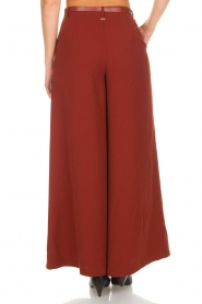 Silvian Heach |  Cropped trousers Tonala | brown  | Picture 5