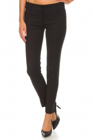 Patrizia Pepe |  Trousers Liz | black  | Picture 4