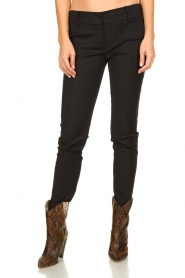 Patrizia Pepe |  Trousers Liz | black  | Picture 2