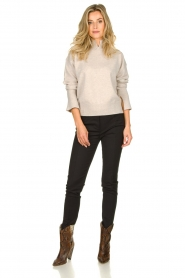 Patrizia Pepe |  Trousers Liz | black  | Picture 3