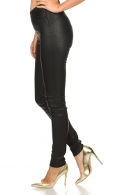 Dante 6 |  Leather leggings Campbell | black  | Picture 4