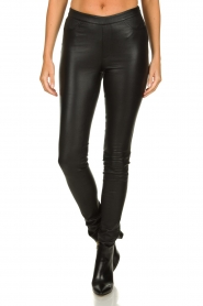 Dante 6 :  Leather leggings Campbell | black - img2