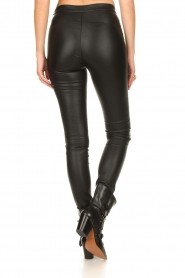 Dante 6 :  Stretch leather leggings Campbell | black - img6