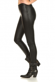 Dante 6 :  Stretch leather leggings Campbell | black - img5