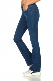 Lois Jeans |  L34 Flared jeans Melrose | blue  | Picture 5