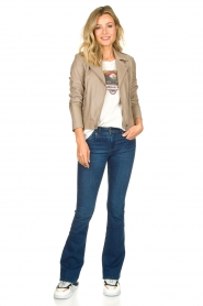 Lois Jeans |  L34 Flared jeans Melrose | blue  | Picture 3