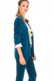 Silvian Heach |  Velvet blazer Shillarbour | blue  | Picture 6