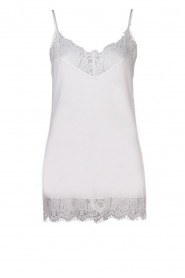 Dante 6 |  Top with lace Dalia | white  | Picture 1
