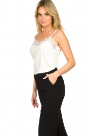 Dante 6 |  Top with lace Dalia | white  | Picture 3