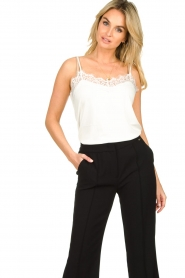 Dante 6 |  Top with lace Dalia | white  | Picture 4