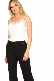 Dante 6 |  Top with lace Dalia | white  | Picture 2