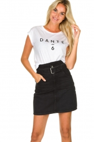 Dante 6 |  Cotton T-shirt with logo print Ravia | white  | Picture 2