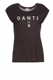 Dante 6 |  T-shirt with logo print Ravia | black  | Picture 1