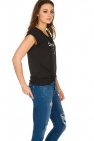 Dante 6 |  T-shirt with logo print Ravia | black  | Picture 5