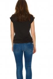 Dante 6 |  T-shirt with logo print Ravia | black  | Picture 6