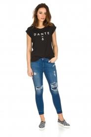 Dante 6 |  T-shirt with logo print Ravia | black  | Picture 3