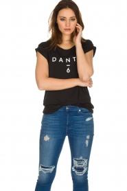 Dante 6 |  T-shirt with logo print Ravia | black  | Picture 4