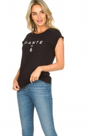 Dante 6 |  T-shirt with logo print Ravia | black  | Picture 3