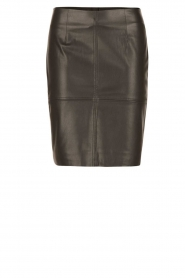 Dante 6 |  faux leather pencilskirt Toortsie | black  | Picture 1
