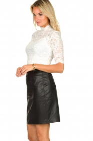 Dante 6 |  faux leather pencilskirt Toortsie | black  | Picture 4