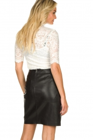 Dante 6 |  faux leather pencilskirt Toortsie | black  | Picture 5
