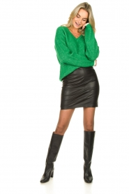 Dante 6 |  faux leather pencilskirt Toortsie | black  | Picture 3