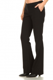 Aaiko |  Flared trousers Flarene | black  | Picture 5